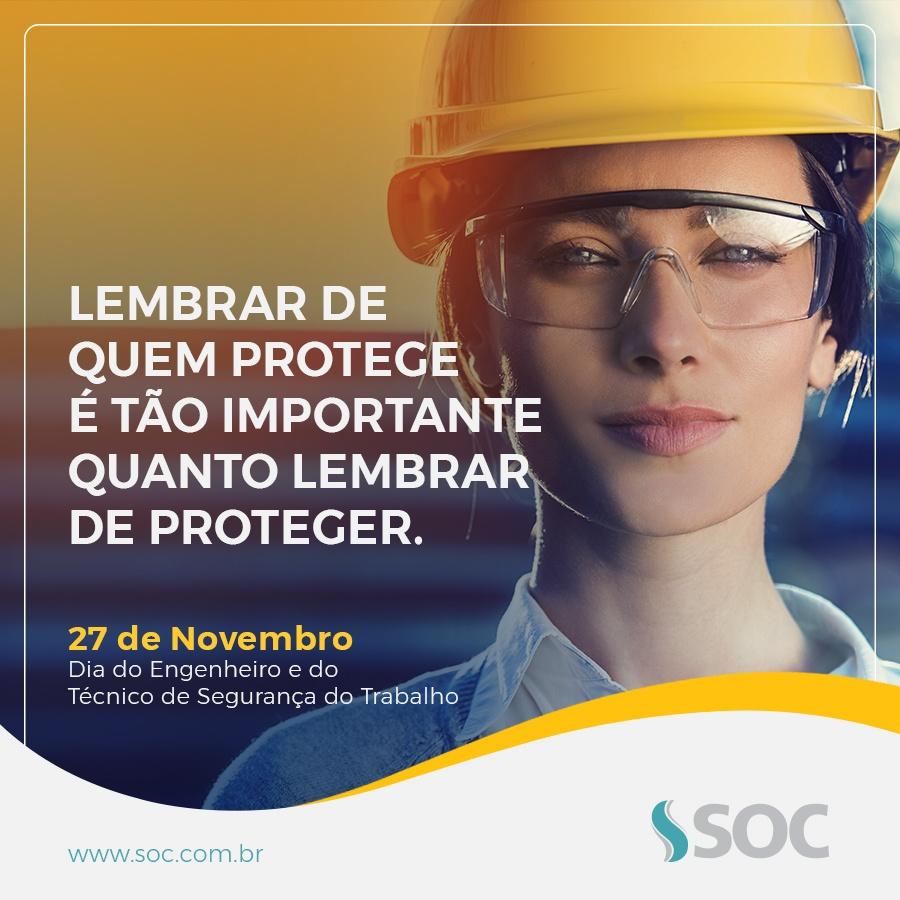 Dia do Técnico e Engenheiro de Segurança do Trabalho