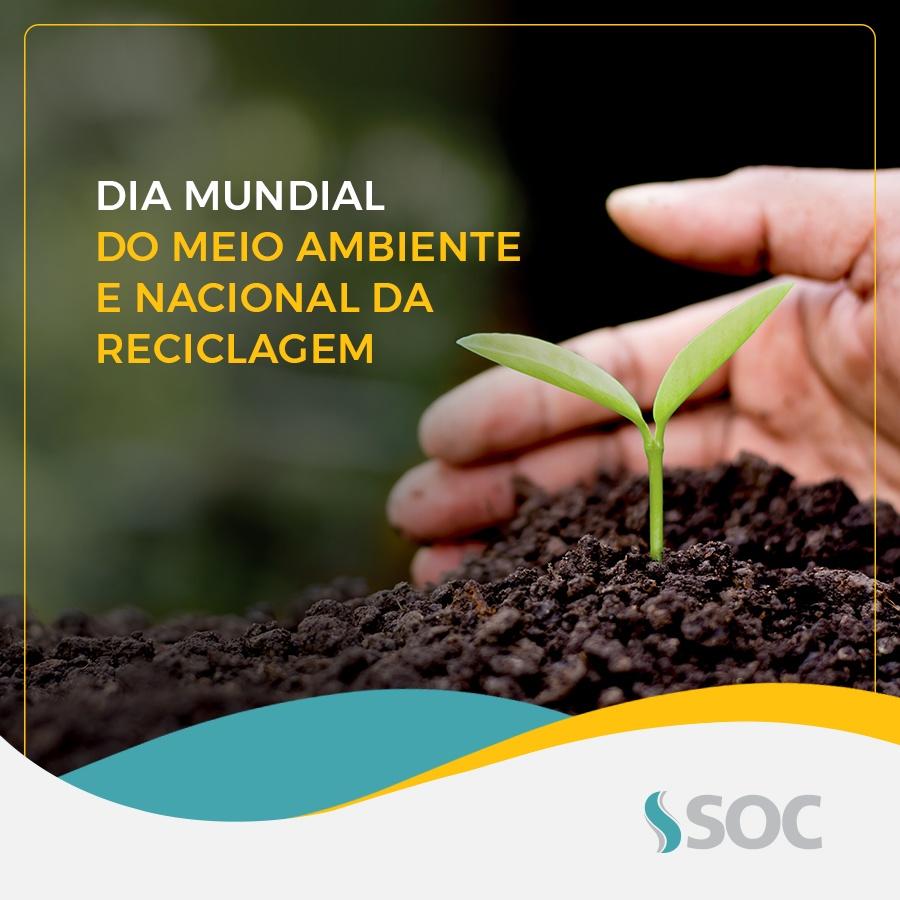 Homenagem SOC ao Dia Mundial do Meio Ambiente 2018