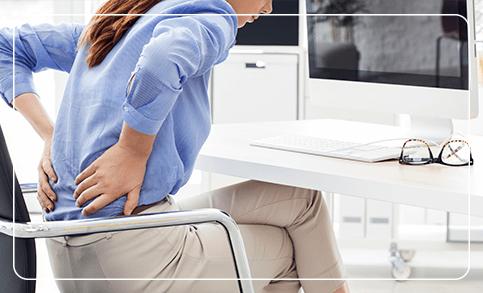 Dores nas costas fazem com que trabalhadores se ausentem Destaque