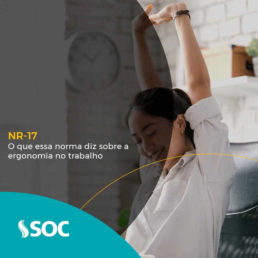 NR 17 o que essa norma diz sobre a ergonomia no trabalho