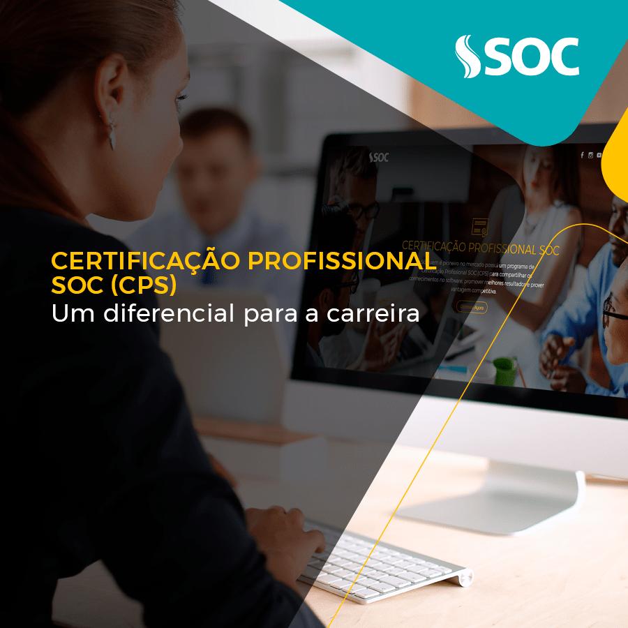 Certificado Profissional SOC (CPS) um diferencial para a carreira