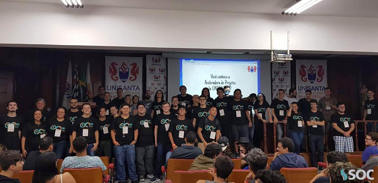 SOC participa do Arduino Day realizado na Unisanta em Santos (1)